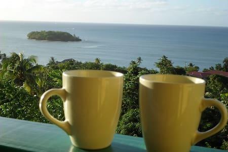 Amazing Beach View House Apt 2 - Castries City - Apartemen