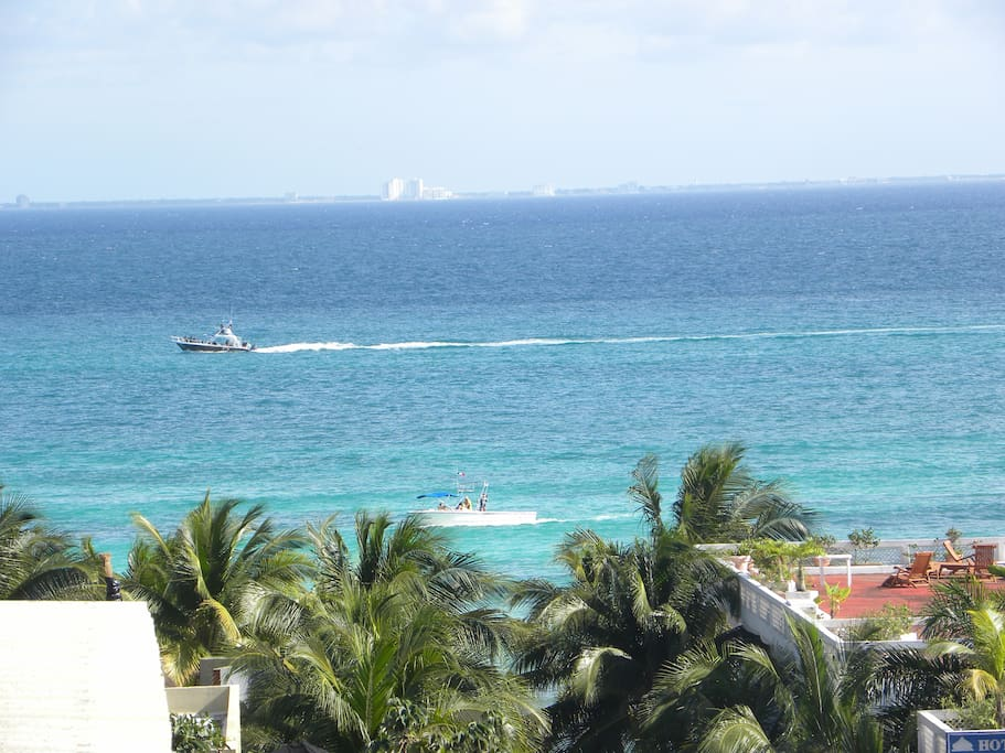 Playa del Carmen caribbean sea.