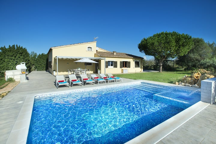Enjoy Great Views by the Pool at Rustic Villa Paxeco