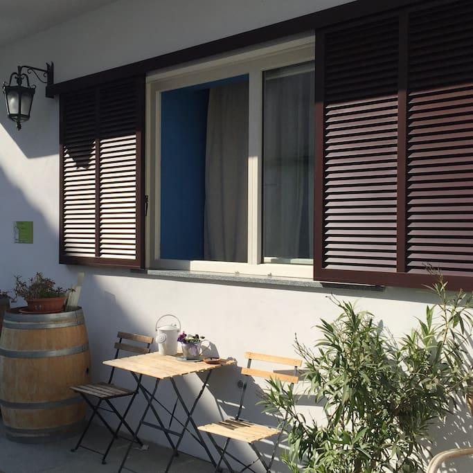 Area esterna su cortile interno