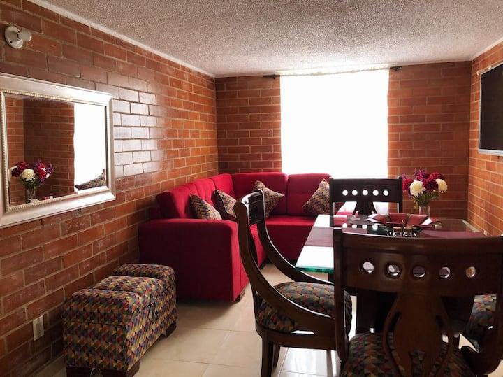 Apartamento en paipa con todo lo que necesitas