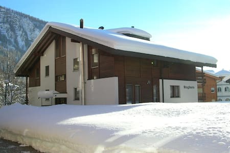 **** 3.5 rooms appartment, sunny and quiet - Leukerbad - Byt
