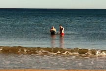 Swimming on the 1st of January 2014. Fresh and Invigorating!