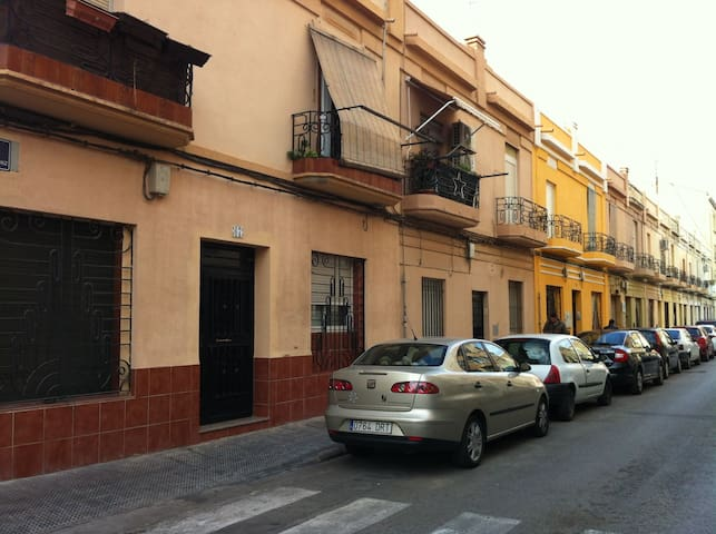 Apartment block. Protected for historical and cultural heritage. (Typical houses of the inhabitants of the area).