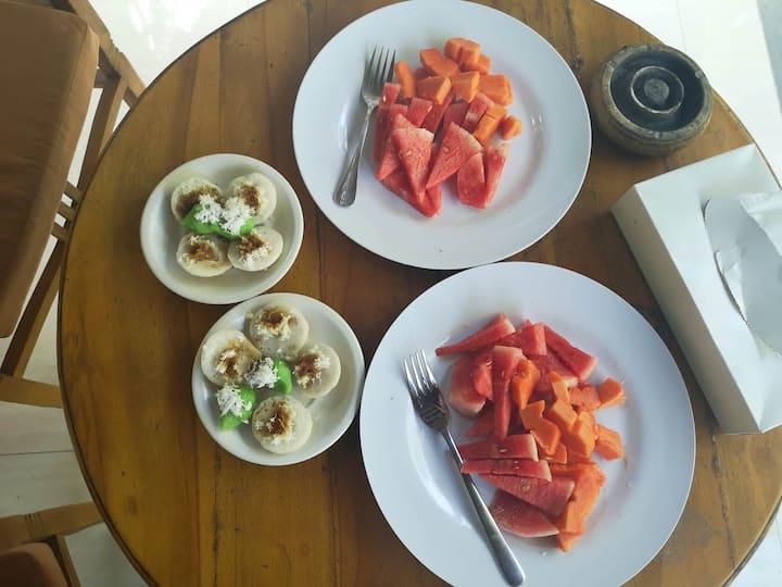 Traditional balinese breakfast - vegan