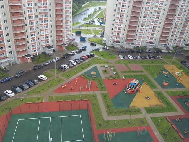 Сдам 1к.кв рядом с метро Бульвар Дмитрия Донского - Moscou - Apartamento