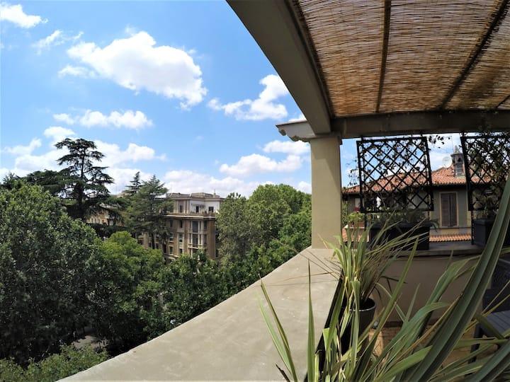 House with a view La casa dei Parioli