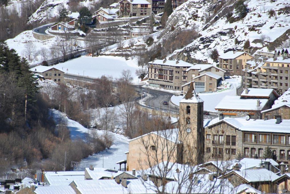 Ordino village