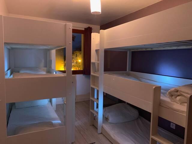 chambre dortoir de nuit