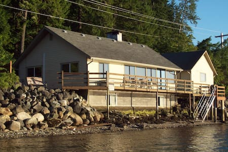 Hood Canal Waterfront  - Wow Views! - Union - House