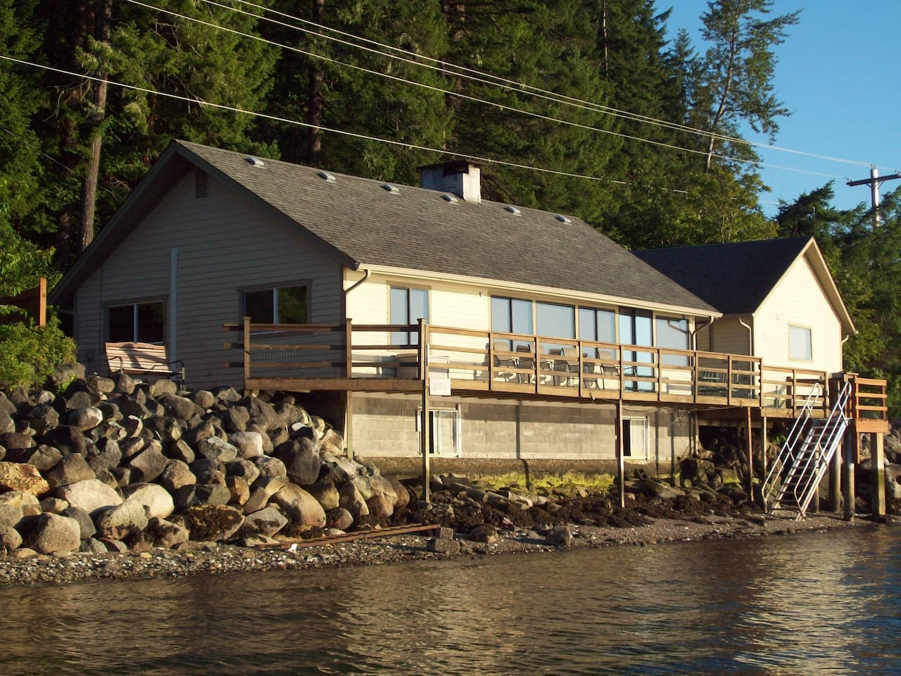 Hood Canal Waterfront  - Wow Views!