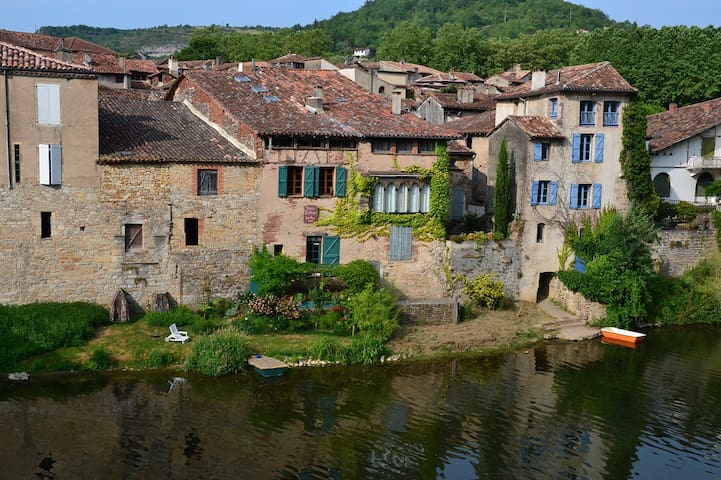 appartement au bord de l'aveyron - Saint-Antonin-Noble-Val - 獨棟