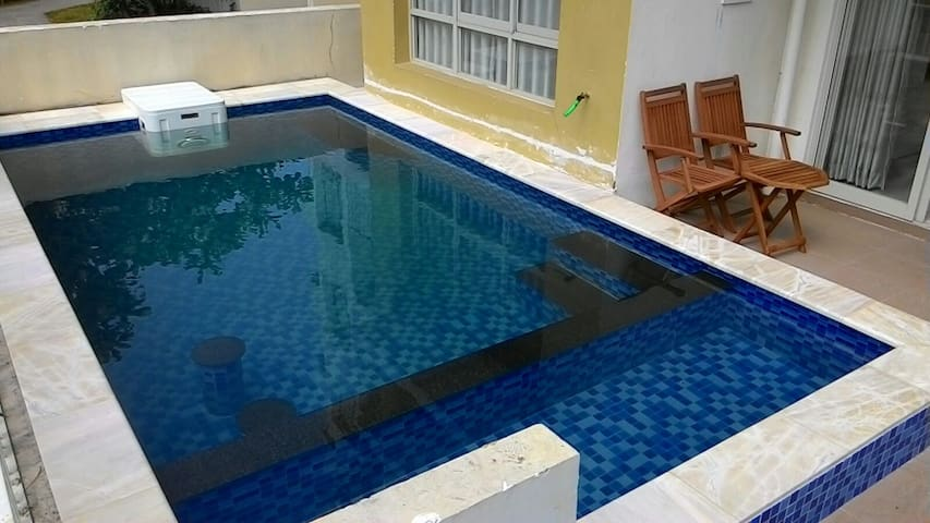 Soak off your day in mini santorini - tx. Thuận An - Apartamento