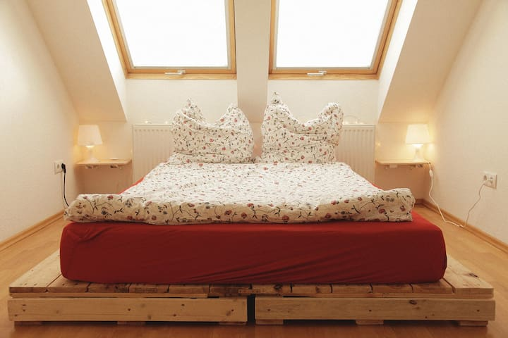 LOVELY DOUBLE BEDROOM IN SUNNY ATTIC FLAT