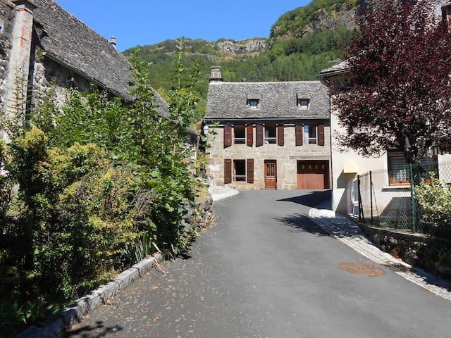 Maison de vacances à la montagne.