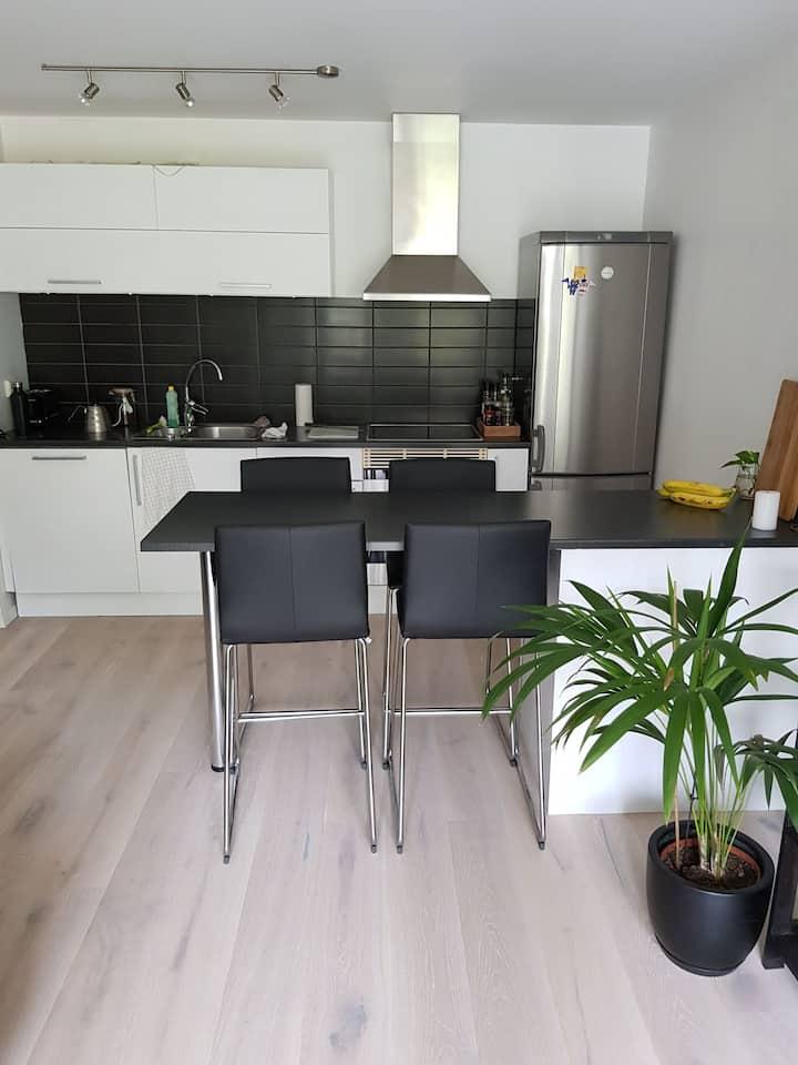 Sentral leilighet i Kristiansand