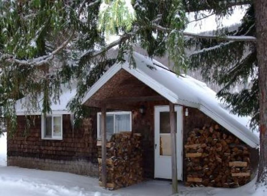 Catskill cabins with fireplace 3 br hytter til leje i for Cabins in the catskills