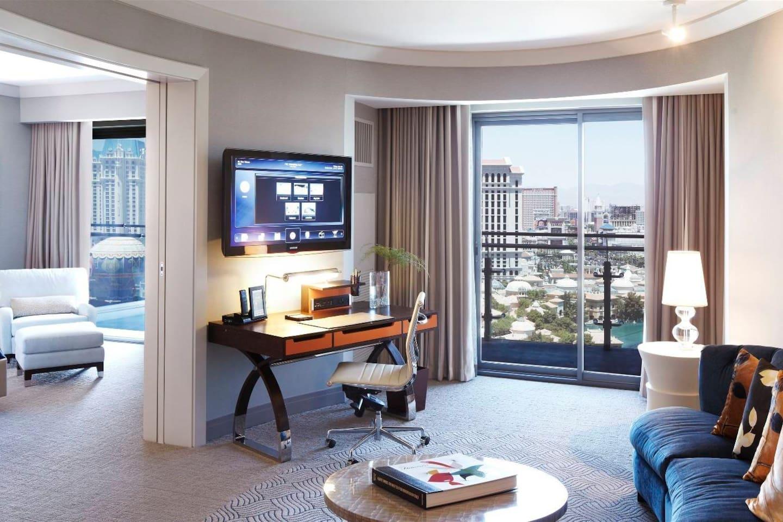 cosmopolitan terrace suite strip vw in las vegas, nevada, united