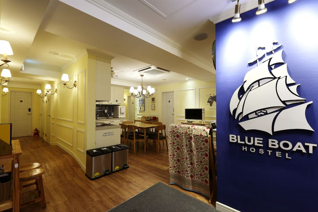 Busan Blueboat Guesthouse Nampo