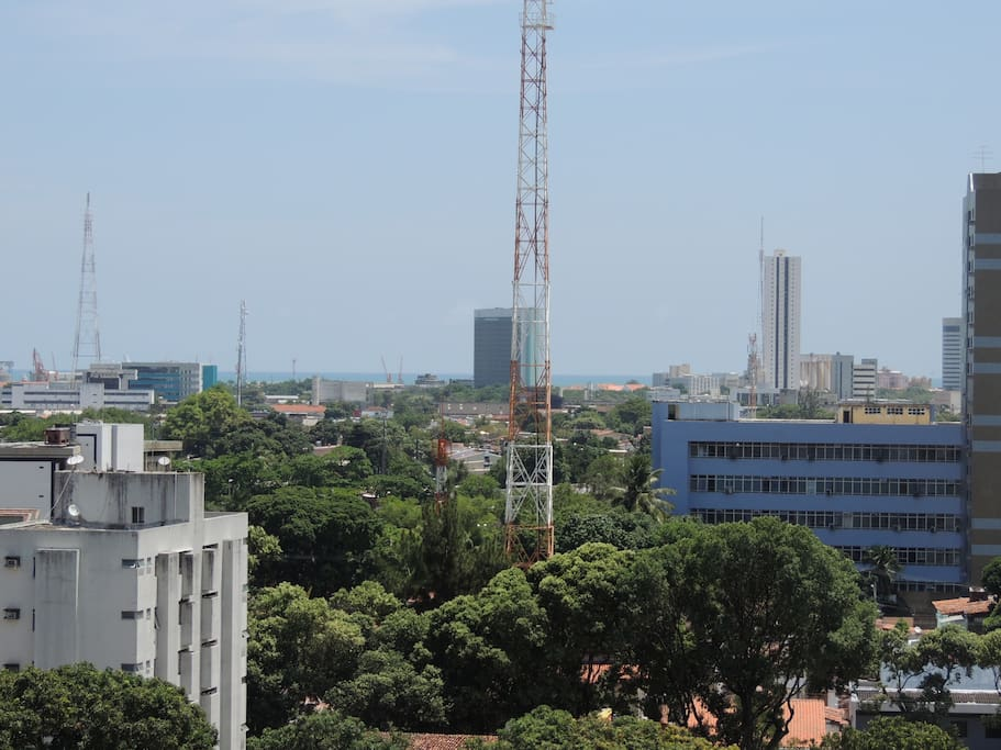 Vista parcial do bairro do Espinheiro