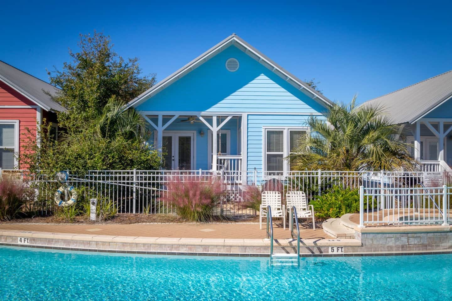Perfect Seacrest Beach Cottage With Pool And Bikes