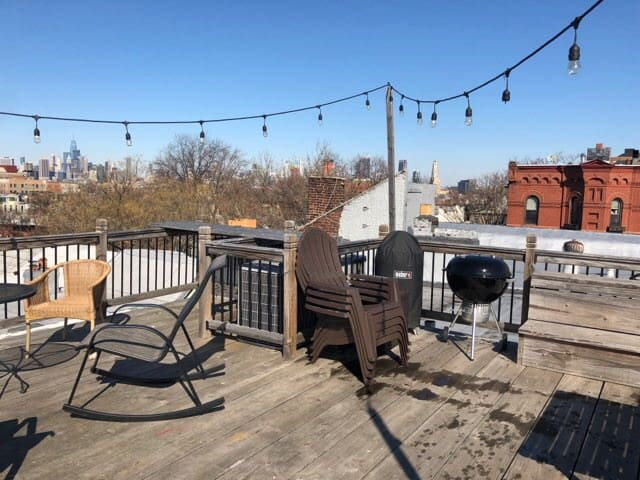Private Roof with Great View of NYC