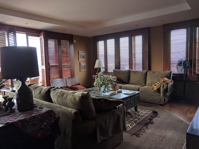 Atmospheric 2br apt. near airport and downtown - Guatemala - Daire