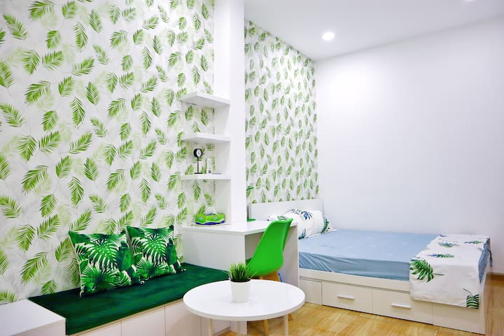 NEW & Green Studio located in the heart of SAIGON