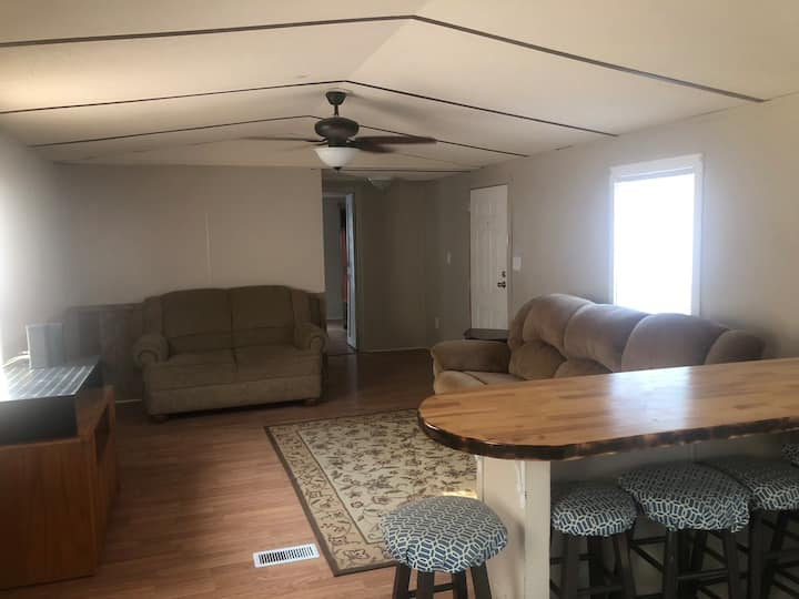 Remodeled mobile home just outside Roanoke Rapids