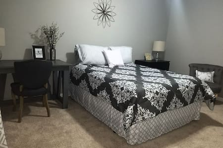 Cozy private room with Desk near Atlanta 1 - Lawrenceville - Hus