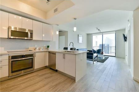 Well Furnished Private Room in Brickell Tower - Miami - Wohnung
