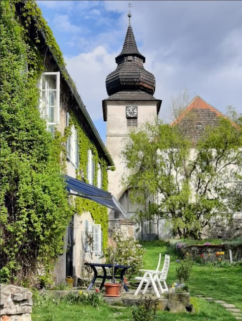 Former rectory - a romantic place.