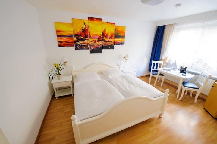 Economy Doppelzimmer im Forsthaus Sellin auf Rügen