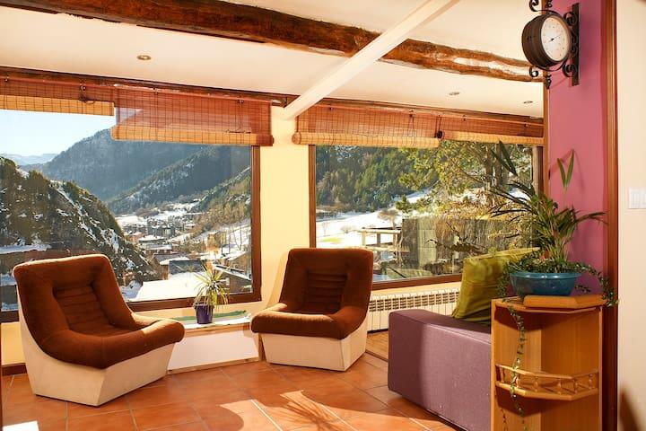 Andorra, Ordino, chalet  vistas preciosas al valle - Ordino - Faház