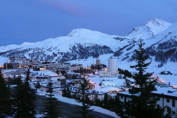 Apt n.68 in Resort Palace 2 Sestriere
