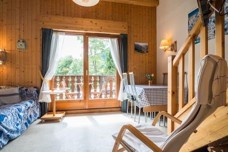 Appartement met 2 slaapkamers & garage in Chatel - Châtel - Apartament