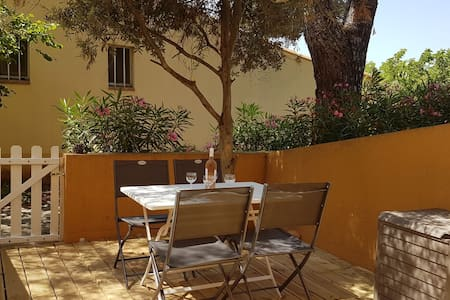 Cap d'Agde, studio 3 pers, plage Roquille, wifi