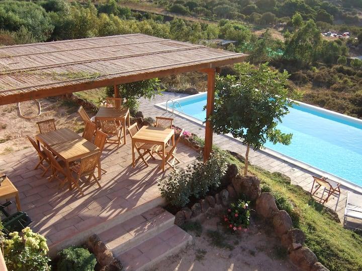 LE PRIMULE, casa in campagna con piscina