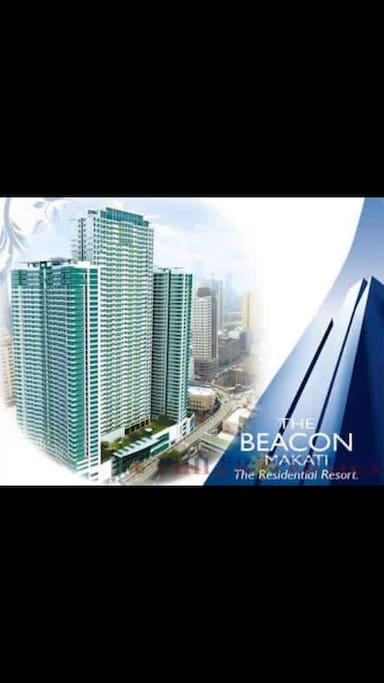 The Beacon Towers Residential Condominium in the Philippine financial district of Makati City