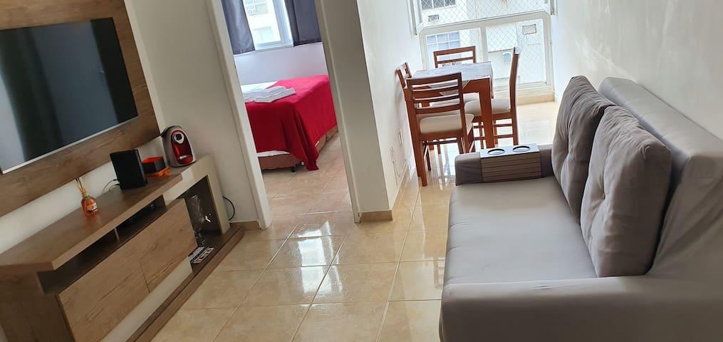Apartamento completo Ipanema próximo à praia