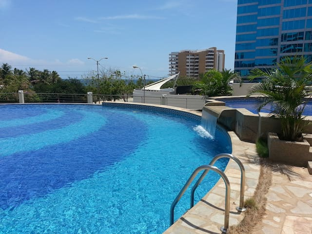 Excellent location - New Apartment - Playa Moreno / Pampatar - 아파트