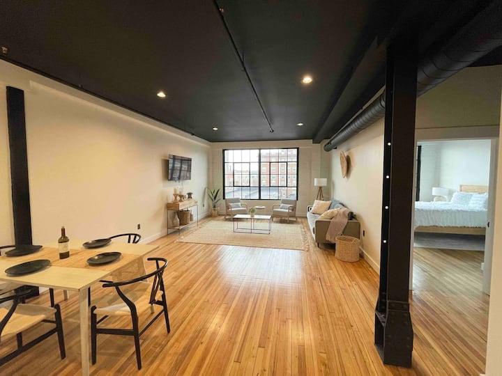 Modern New York Inspired Loft