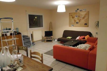 Chambre dans maison chaleureuse - Trégueux