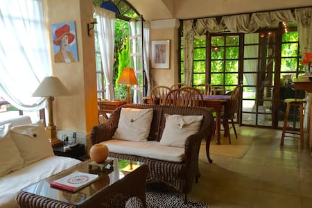 Cozy apartment with a beautiful garden - Antigua Guatemala - Wohnung
