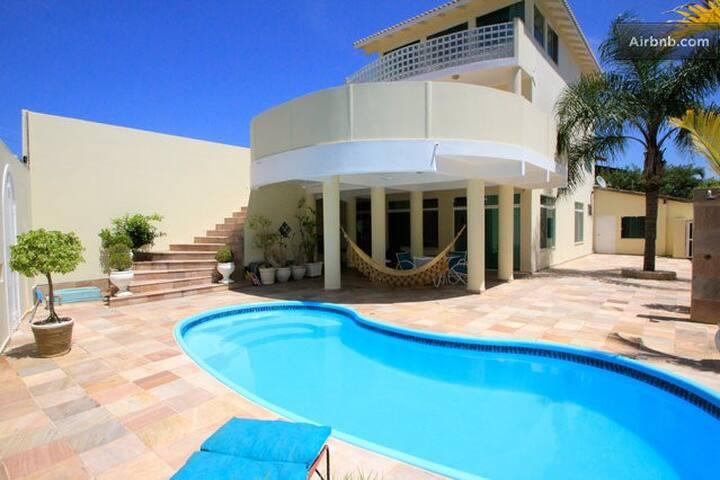 Luxury Mezzanine Suite, Beach Villa - Florianópolis - Villa
