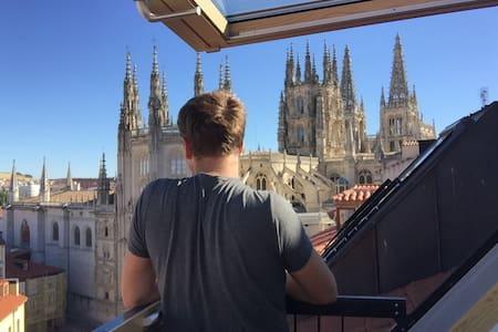 Independencia o experiencia Airbnb? - Burgos - Apartment