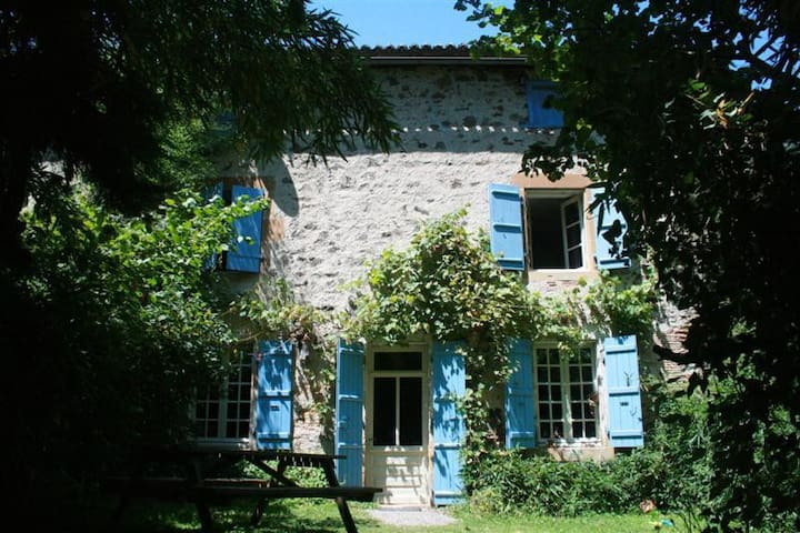 De Boerderijwoning - Saint-Germain-de-Confolens - Daire