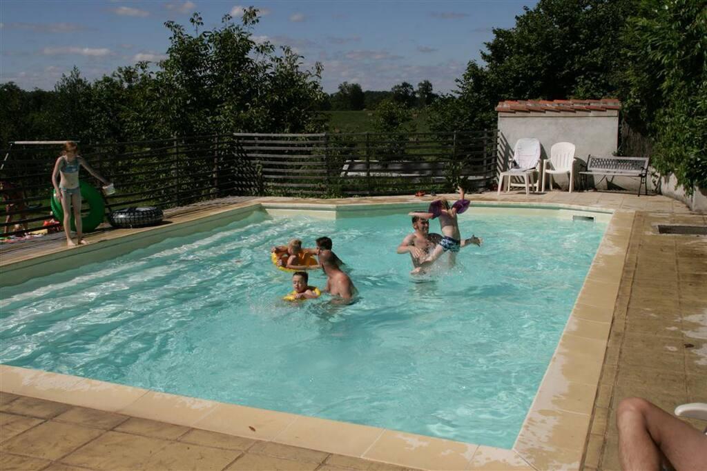 Het kindveilige zwembad