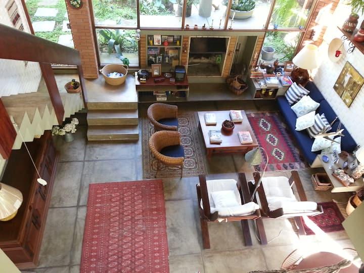 Casa com piscina Toque Toque Grande