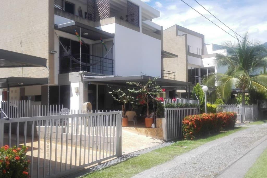 Exterior view of the property Vista Exterior propiedad